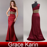 beautifly dresses - Grace Karin Retail colors Beautifly Sexy One Shoulder Ball Gown Evening Dress CL2020