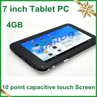 Wholesale 5Pcs inch Android Tablet computers MB RAM G memory front camara price OBD02