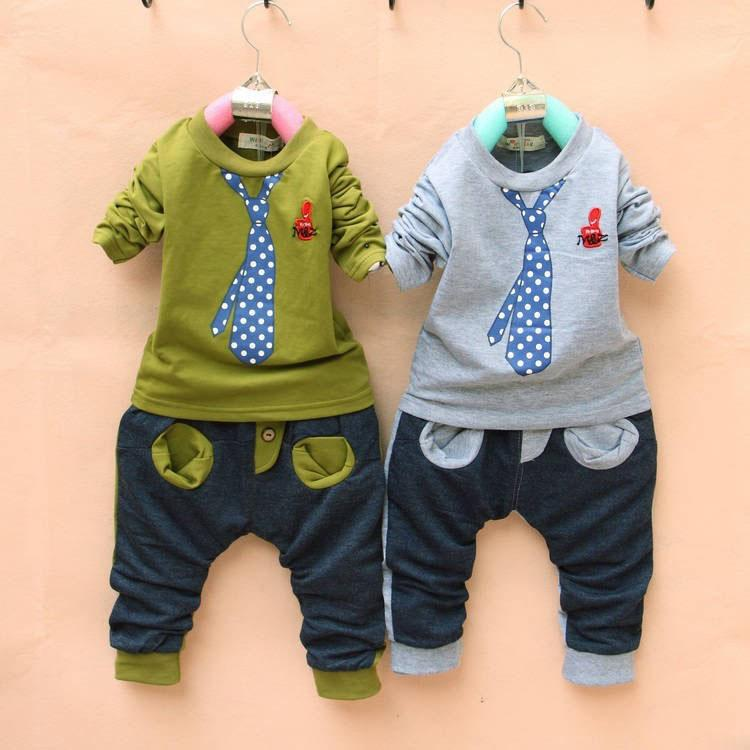2017 2013 Spring Baby Boy Clothing Hot Sale Tie Cartoon Kid ...