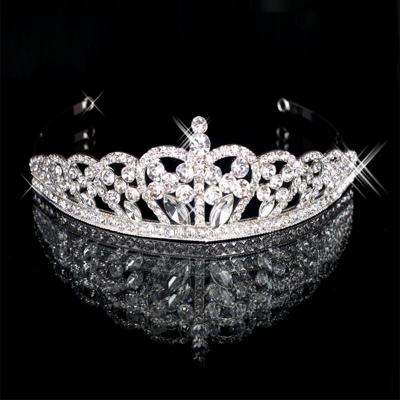 Hair Accessories Accessory Hair Crown Girls Crystal Tiara