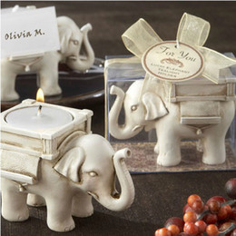 Wholesale 2013 Fashion Romantic Creative Lucky Elephant Wedding Candles Favors Birthday Party Candles Gift