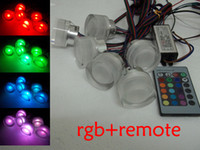 Wholesale RGB color V W high power RGB led Ceiling light RGB led downlight key remote control