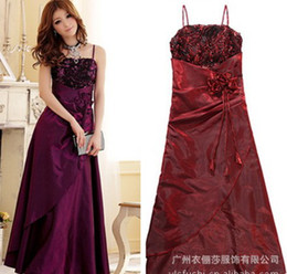 Wholesale M0027 Spaghetti Evening dress A Line sexy mini dress Party Dress Formal Prom Wedding Dress