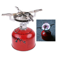 Wholesale 50 Portable Outdoor Stainless Steel Camping Picnic Stove BBQ Burner Cookware