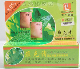 Wholesale Good product for the acne lulanjina Bitter Gourd Detox Acne Cream