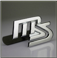 Wholesale QQQ car stickers QQQ refires ms metal in net alias personalized emblem car sticker