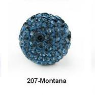 Free shipping Black Blue 10mm Micro Pave CZ Disco Ball Crystal Bead.8so9 Best bead jewelry.