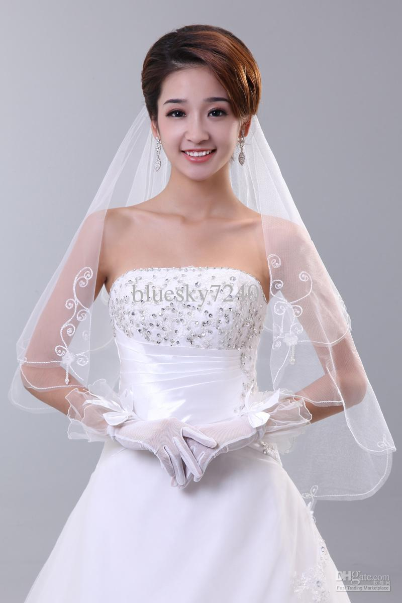 Bridal veil wedding dress veil wedding dress formal dress for Wedding dresses and veils