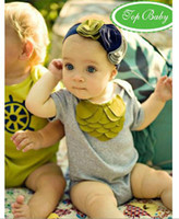 Wholesale NEW TOP BABY headband girls cute designs Hair Accessories kids headwear infant hair ornaments cld