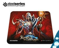 Rubber rune - Original authentic Steelseries QCK RUNES OF MAGIC Mouse pad boxed Competitive games must silicone