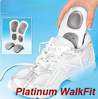 Wholesale 50 sets WalkFit Walk Fit Platinum Custom Orthotics Shoe Insole Pads Foot Care