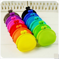 Wholesale Silicone Coin Purse Lovely Coin Bag Money Bag Japanese Style Coin Small Wallet