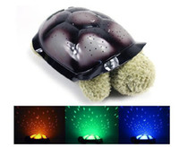 Wholesale 1pc Tortoise Led Lamp Timmy Sea Turtle Light Sleep Projecting Lamp Toys TV Star Guide