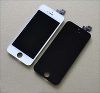 LCD Screen Panels   New Arrival LCD Touch Digitizer Front Screen Assembly For iPhone5 Replacement Kit for iphone 5 5G