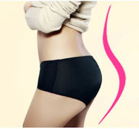 Wholesale Sexy Hip Shaper Butt Booster Enhancer Padded Panty Booty Black Beige Color