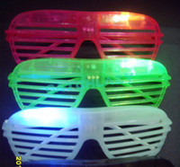 Wholesale SPECIAL FOR PARTY OLYMPICS Wholes sales amp clearance fast delivery BLIND SHUTTER LED glasses f