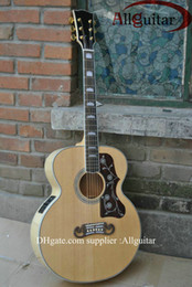 Wholesale New Style Pete Townshend signature Acoustic guitar AAA top Solid spruce Back Side neck Tiger stripe