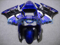Wholesale Motorcycle Fairings For KAWASAKI Ninja ZX R ZX6R ZX R R HOT Blue black Fairing kit KH12