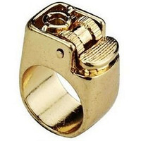 Wholesale Export Europe top grade LIGHTER SHAPE punk RING Ring ring Excellent vintage heavy Rings rings AAA