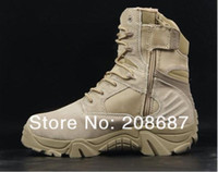 Wholesale Delta desert boots Tan EUR SIZE military boots