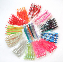 Wholesale 4 inch Octopus Skirt Lure Fishing Lure Fishing Tackle Trolling Bait Soft Bait Game Fishing Lures for Salt or Fresh Water Fishing