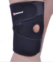 Wholesale Fashion Open Knee Guards Protector in Black Color
