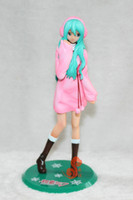 big cute headphones - Cute Scale Hatsune Miku Action Figure with Headphone Color White or Pink CVFG021