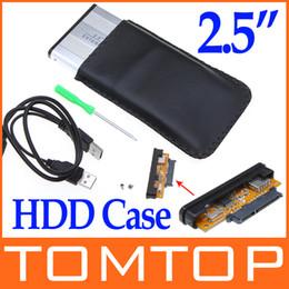 Wholesale 2 quot inch SATA USB Hard Drive Disk HDD Storage Case Enclosure C576S
