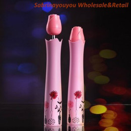 Wholesale patent rose vase bottle sun umbrella best quality and elgent pink color for Wedding Umbrella