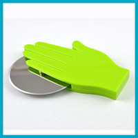 Wholesale Stainless Steel Pizza Cutter tool Wheel Slicer Sharp Blade for Kitchen Dining