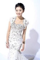 Jacket Lace Short Sleeves 2013 New Arrival Sexy Short Sleeve Wedding Jacket Rhinestone Beads Bridal Wraps