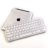 Wholesale White Bluetooth Wireless Keyboard For iPad nd New rd th Gen Mini Macbook Mac