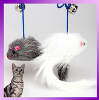 Wholesale Cat Toys Teaser Mouse Ball Feather Wand Brand New Colors For Cat