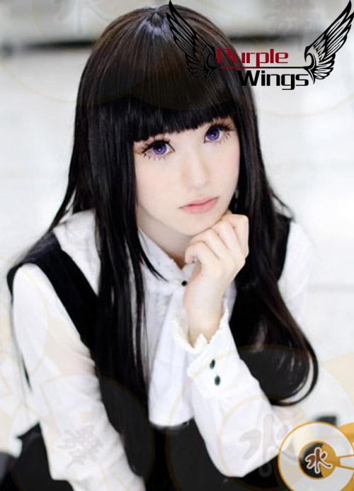 Hell Girl Heat Resistant New Long Straight Black Anime