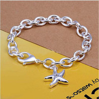 Wholesale brand new women s sterling silver bracelet silver bracelet jewelry pieces a mix order fit women