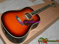 Wholesale Sell cheap D40S Custom Sunburst Acoustic Guitar Veneer Classic In Stock China Factory Outlet