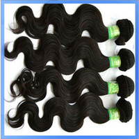 Wholesale 100 Human Hair Weft Weave Natural Color Hair Extension Retail