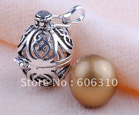 Wholesale Sterling Silver Harmony Ball bell ringing Chime Pendant H602