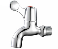 Wholesale Brass Chrome Plating Washing Machine Faucets Laundry Utility Faucets
