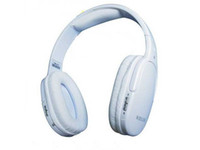 Wireless MP3/MP4 Stereo Wireless strero On-ear Headphone headset with Retail box 5pcs lot