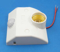 Wholesale Infrared Motion Sensor Automatic Light Lamp Bulb Holder Stand Switch Ir Sensor Bulb Holder Switch