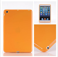 Protective Shell/Skin For Apple For Ipad Mini DHL Cheap TPU Case Cases for Apple iPad Mini Back Soft Protector Cover 7.9 inch Factory Direct