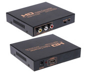 Wholesale HDMI TO AV Converter HDMI to Composite AV CVBS R L HD Video Converter Adapter