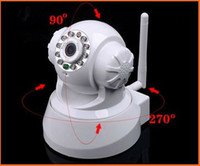 Wholesale WANSCAM Wireless Security IR Nightvision P T Wireless IP Camera WiFi Freeshipping Dropshipping