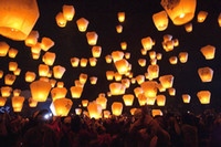 Wholesale FIRE SKY CHINESE LANTERNS BIRTHDAY WEDDING PARTY colors hot