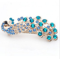 Cheap Women's crystal hairclip Best Party Barrettes & Clips crystal hairpin