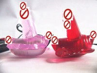 Wholesale Wireless Pleasure Butterfly Vibrator Strap on Dildo Penis Bullet Female Masturbation Sex Toy Gift