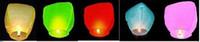 Wholesale Mid Autumn Sky Lanterns Wishing lights with fuel fire retardant safe lotus lamp