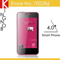Wholesale Cheap Original UMO W800 MTK6575 GSM WCDMA Android lady phone inch multi touch GPS WIFI SG