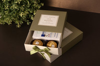 Wholesale CB2031 green Paper gift box wedding box candy box